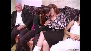 , Group intercourse with grannies, SexOnTape Porn Video Tube